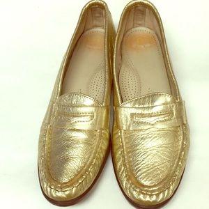 SAS Tripad Comfort Gold Loafers